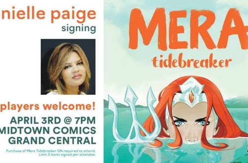 Mera: Tidebreaker signing with Danielle Paige